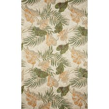 Ravella Tropical Leaf Outdoor Rug