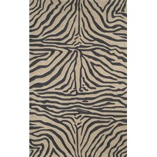 Ravella Black Zebra Outdoor Rug