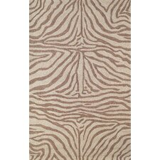 Ravella Brown Zebra Outdoor Rug