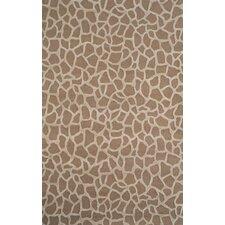 Seville Taupe Giraffe Rug
