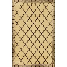 <strong>Trans-Ocean Rug</strong> Ravella Floor Tile Wheat Indoor / Outdoor Rug