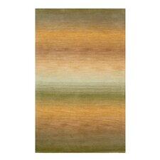 Ombre Sage Stripe Rug