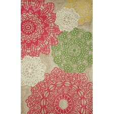 Ravella Crochet Pastel Indoor/Outdoor Rug