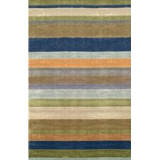 Oslo Ocean Stripes Rug
