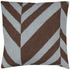 Slanted Stripe Throw Pillow