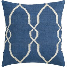 Juxtaposed Geometric Pillow