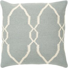 Juxtaposed Geometric Throw Pillow