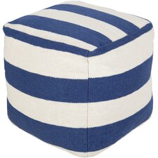 <strong>Surya</strong> Sweet Stripes Pouf