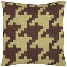 <strong>Surya</strong> Striking Houndstooth Pillow