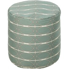 Connected Circles Outdoor Pouf