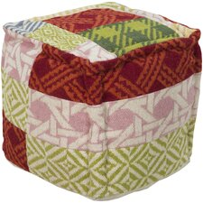 Multi Pattern Pouf