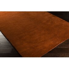 Cambria Rust Red/Copper Penny Rug