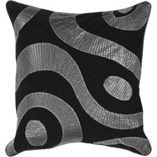 <strong>Surya</strong> Smooth Swirl Pillow