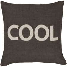 "<strong>Surya</strong> Charmingly ""Cool"" Pillow"