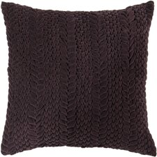 Textured Triangles Throw Pillow