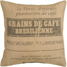Charming French Canvas Pillow
