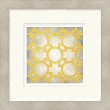 Classical Symmetry V by Vision Studio Framed Graphic Art
