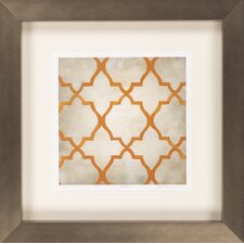 Classical Symmetry VI by Vision Studio Framed Graphic Art