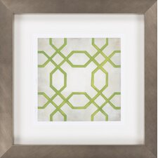 Classical Symmetry VII by Vision Studio Framed Graphic Art