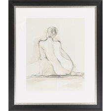 Neutral Figure Study III by Vision Studio Framed Graphic Art