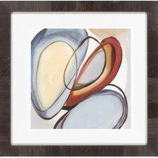 Circular Reasoning III by Vision Studio Framed Graphic Art