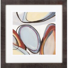 Circular Reasoning IV by Vision Studio Framed Graphic Art