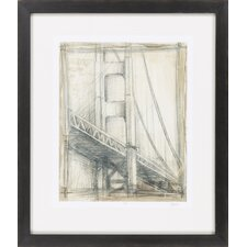 Golden Gate Bridge by Vision Studio Framed Graphic Art
