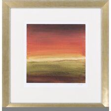 Abstract Horizon I by Vision Studio Framed Graphic Art