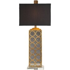 "Madonna 33"" H Table Lamp with Rectangle Shade"