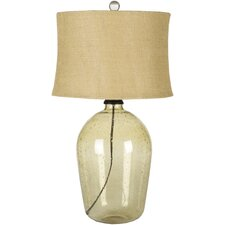 "Mabel 28"" H Table Lamp with Drum Shade"