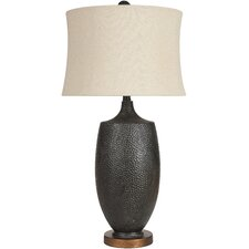 "Macrae 30"" H Table Lamp with Empire Shade"