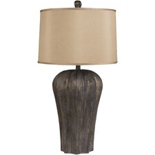 "Camryn 30"" H Table Lamp with Drum Shade"