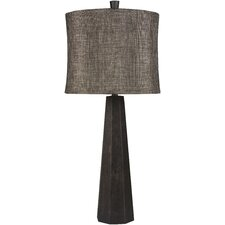 "Sadie 33"" H Table Lamp with Drum Shade"