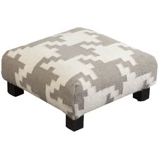 Frontier Tinsley Flatweave Ottoman