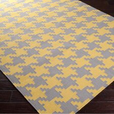 Frontier Elephant Gray/Quince Yellow Rug