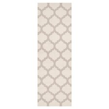 Frontier Oatmeal/White Rug