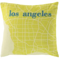 <strong>Surya</strong> Take me to Los Angeles Pillow