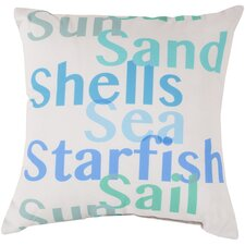 Striking Sea Filled Pillow