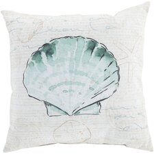 Script and Shell Pillow