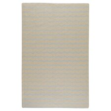 Frontier Pale Blue/Beige Striped Rug