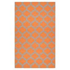 Frontier Pumpkin/Flint Gray Rug