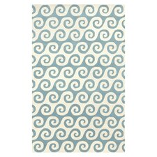 Lighthouse Ivory/Pacific Blue Rug