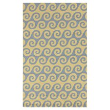 Rain Quince Yellow Indoor/Outdoor Rug