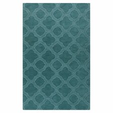 Mystique Teal Green Area Rug