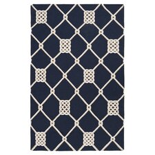 Frontier Federal Blue Rug