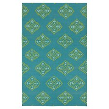 Frontier Turquoise Area Rug