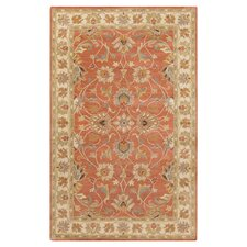 Caesar Red Clay Rug