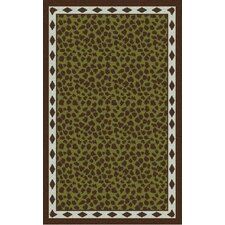 Amour Forest Cheetah Print Rug