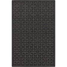 Portera Black Indoor/Outdoor Rug