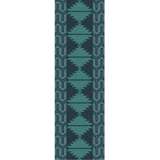 Jewel Tone II Teal Rug